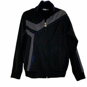 Billabong Mens Black Grey Blue Jacket  Size: M Lon